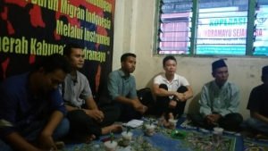 The paralegals who participated in Indramayu training.